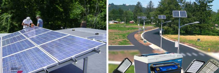 Solar Power & LED Lights